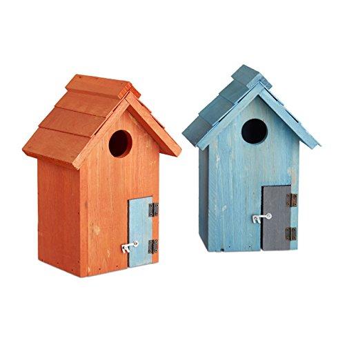 Relaxdays-Nido-artificiale-casetta-per-uccellini-in-legno-porta-piccola-apertura-HLP-243-x-17-x-12-cm-diversi-colori