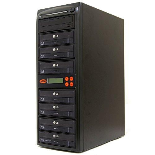 Systor 1-7 Blu-ray 16X BD M-disc CD/DVD Kopierstation