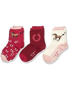 Camano Mädchen Socken, 3er Pack