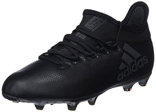 adidas Unisex-Kinder X 17.1 FG Fußballschuhe, Schwarz (Negbás/Supcia 000), 37 1/3 EU