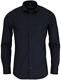 ETERNA  Hemd SLIM FIT Stretch unifarben