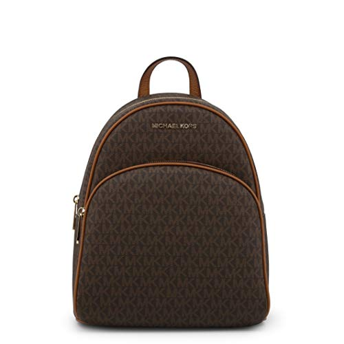 Michael Kors Brown Acorn Signature Abbey zaino Tote Bag