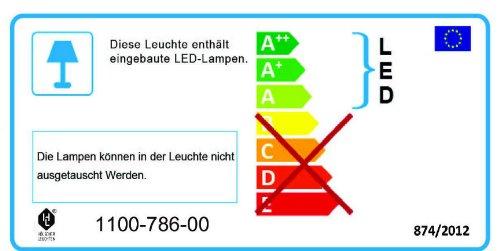 trendteam SN97342 Wohnzimmerschrank Wohnwand Anbauwand Eiche Sägerau, BxHxT 250x201x47 cm - 2