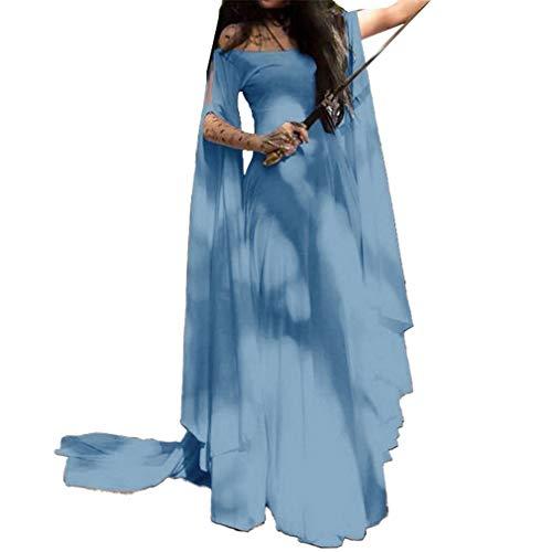 telalter Pixie Kostüm Feen Spitze Kleid Bohemian Gypsy Tribal Kleider Größe S-5XL ()