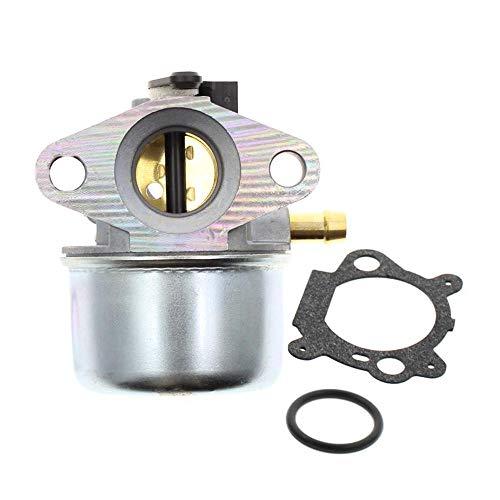 DokFin 799868 Vergaser passend für Briggs & Stratton 498170 497586 497314 698444 498254 497347 Modelle mit Dichtung und O-Ring, 4-7 PS Motoren ohne Choke (799868)