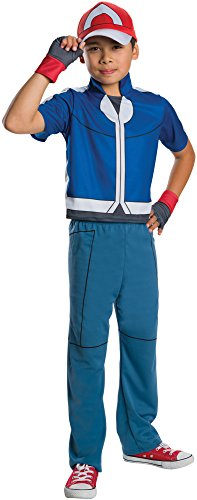 Rubie's Costume Pokemon Ash Deluxe Child Costume, Small by Rubie's Costume (Kostüm Ash Pokemon)