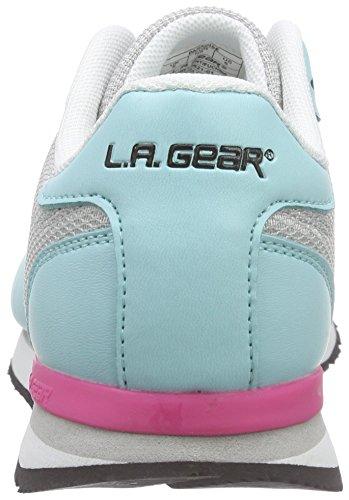 L.A. Gear Paradise, Baskets Basses femme Gris - Grau (LT Grey-MInt 01)