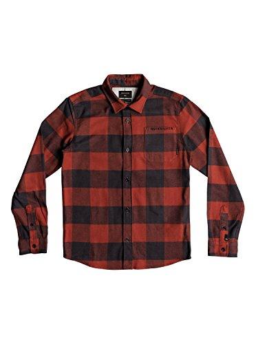 Quiksilver Motherfly Flannel - Long Sleeve Shirt - Langarm-Hemd - Jungen 8-16