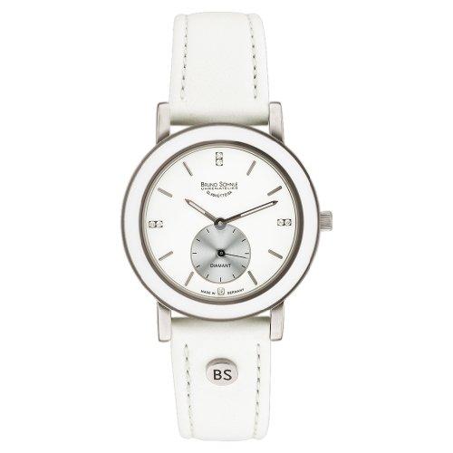 Bruno Soehnle Naturale I 17-93140-991 - Reloj para mujeres color blanco