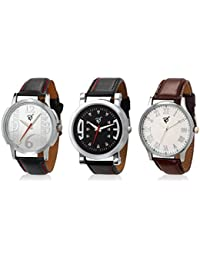 Rico Sordi Set of 3 Mens Leather Watches RSD17_S3_2_RSD17_S3_2