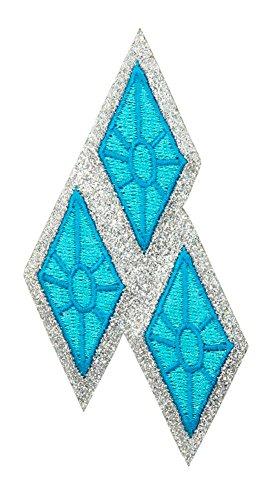 Rarity Glitter Patch ()