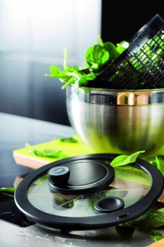 Rsle-15695-Essoreuse–salade-Acier-Inoxydable-ArgentNoir