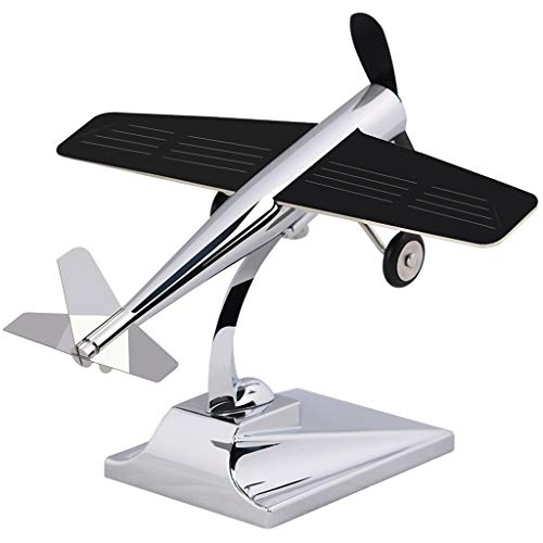 XYGG Dekorationskreative Innenmittelkonsolen des Solarflugzeugautoinnenschmuckdekoration