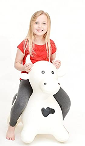 BETSY X-Large Bull Cow Space Hopper Crazy Bouncer W/Pump ✔