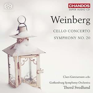 Mieczyslaw Weinberg : Concerto pour violoncelle - Symphonie n° 20
