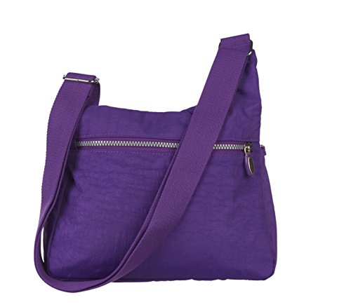 Lorenz, Borsa a tracolla donna Medium Purple