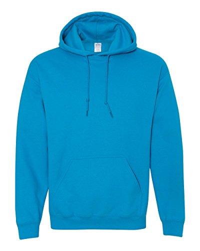 Gildan Herren Kapuzen-Sweatshirt Gr. XX-Large, Bleu - Saphir