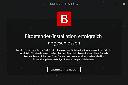 Bitdefender Total Security Multi Device 2018 – 10 Geräte | 1 Jahr / 365 Tage (MAC, Windows, Android & iOS) - Aktivierungscode - 8
