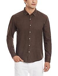 11.11/eleven eleven Men's Dress Shirt