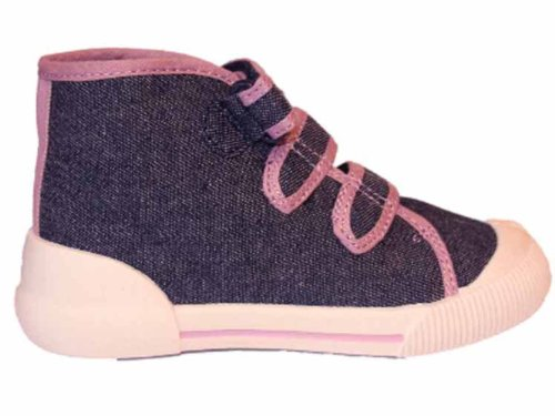 Socks Uwear , Mädchen Sneaker Denim