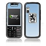 Nokia Xpress Music 5730 Aufkleber Schutz Folie Design Sticker Skin TSV 1860 München Fanartikel Fußball