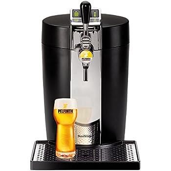 Krups VB700800 Machine à Bière Pression BeerTender Noir Tireuse à bière Fût 5L