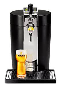 Krups VB700800 BeerTender - Spillatrice per birra, in termoplastica, colore: nero