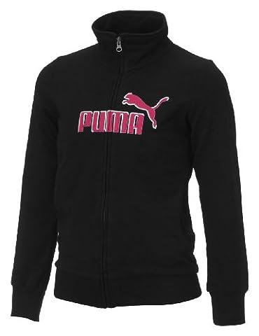 Puma enfants de Sweat Jacket Veste (fille) Noir noir 116 cm