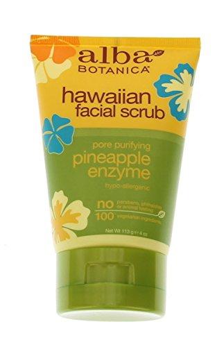 alba-botanica-natural-facial-scrub-hawaiian-pineapple-enzyme-4-oz-5-pack-by-alba-botanica