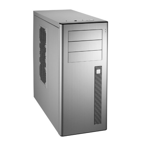 Lian Li PC-9N Midi-Tower Silber PC-Gehäuse PC-Gehäuse (Midi-Tower, PC, Aluminium, ATX, Micro-ATX, Silber, Set)