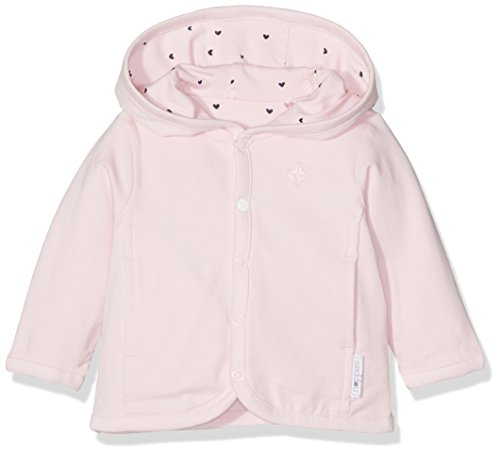 Noppies Baby-Mädchen G Cardigan Jrsy REV Novi-67368 Strickjacke, Rosa (Light Rose C092), 62 - Mädchen Baumwolle Strickjacke
