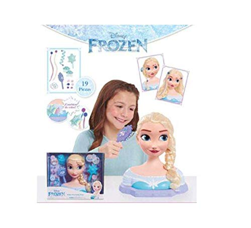 Giochi Preziosi Busto Deluxe Princesa Disney Elsa con 19 Accesorios