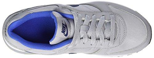 Nike Nightgazer (Gs), Scarpe da Ginnastica Bambino Grigio (Wolf Grey / Binary Blue / Comet Blue / White)
