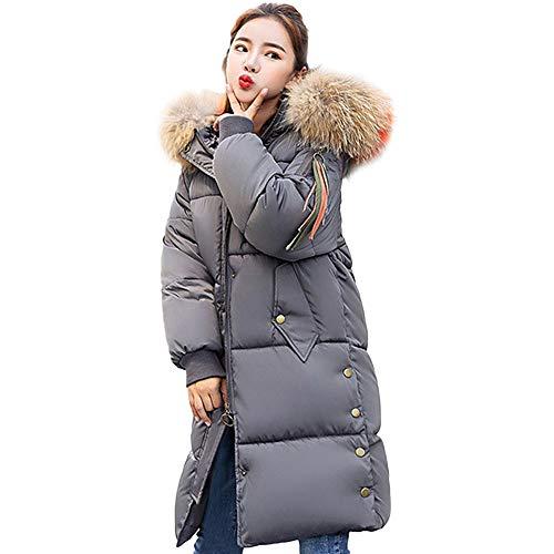 Beikoard Damen Daunenjacke,-30% Damen Winter warm Jacke langem -