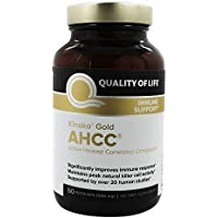 Quality of Life, Kinoko Gold AHCC, Immune Support, 500mg, 60 Veg. Kapseln preisvergleich bei billige-tabletten.eu