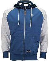 Crosshatch Designer Mens Fleece Hoodie Jacket Sweatshirt Hooded Top Jumper