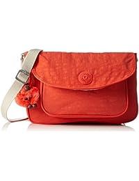 Kipling Sunita Bolso Bandolera, Color Rosa (Coral Rose C)