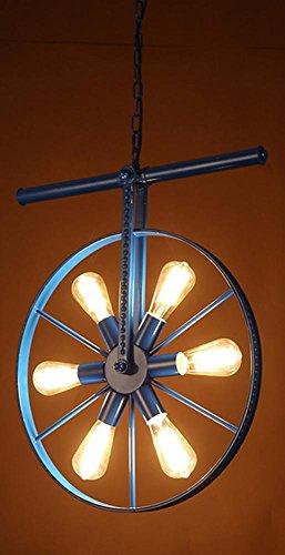 FWEF Retro Ferro Lampadari Ristorante Creativo Americano - Stile Di Illuminazione Barra Di Ferro Bar Sala Da Pranzo Caffetteria . C