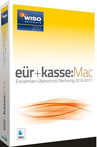WISO EÜR+Kasse 2017 Mac: Die Einnahmen-Überschuss-Rechnung 2016/2017. Inklusive Gewerbe- und Umsatzsteuer-Erklärung