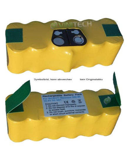 Hersteller Serie (Vinitech Akku passend für iRobot ROOMBA APS 500 Serie Ni-Mh 14,4V 3000mAh)