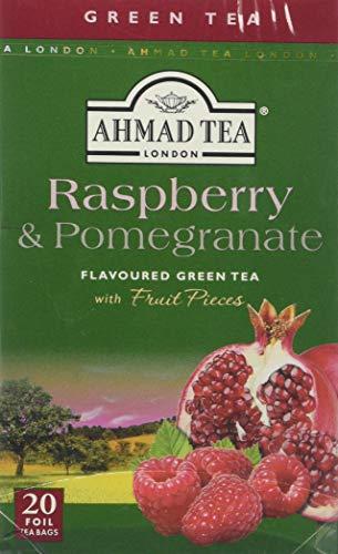 Ahmad Tea Raspberry & Pomegranate Green Tea - 20 Teabags