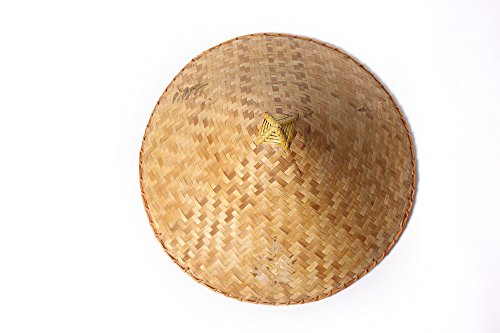 DRESS ME UP - DH-004 Hut Strohhut Bambushut Kegelhut Conical Hat China Vietnam Japan Asien Chinese Reisbauer Fischer -