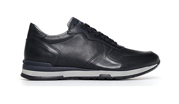 Nero Giardini Chaussures Sneaker P800221u-200 0221 Chaussures De Sport Bleu Hommes Nero Giardini Soldes zPUxVa