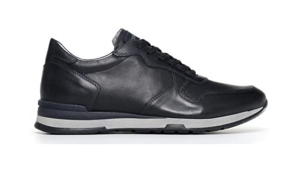 Nero Giardini Chaussures Sneaker P800221u-200 0221 Chaussures De Sport Bleu Hommes Nero Giardini Soldes