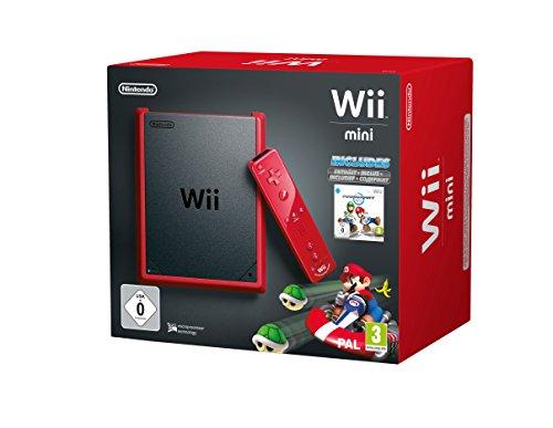 Wii - Konsole mini Mario Kart Bundle (Mario Kart Wii Mini)