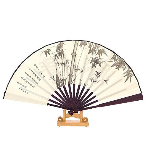 Luxdeoo Handfächer Faltfächer Faltender Ventilator Der Männer Der Chinesischen Art, DerMännlichen Ventilator Faltet