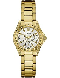 GUESS Analog White Dial Women's Watch - W0938L2