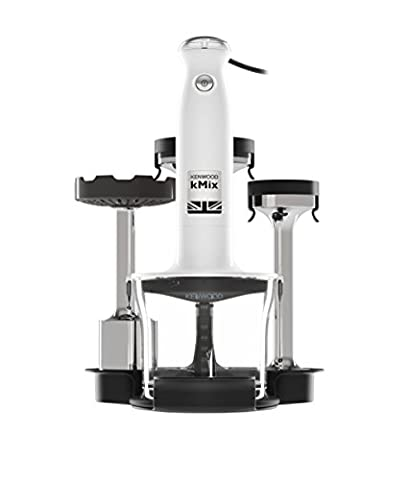 Kenwood kMix Stabmixer-Set HDX754WH, weiß, 800 Watt, Pürierstab, neue Serie, Triblade System