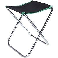 EverTrust (TM) UK verde da campeggio portatile pieghevole in alluminio tessuto Oxford Sedia Patio Pesca Camping con Carry Bag