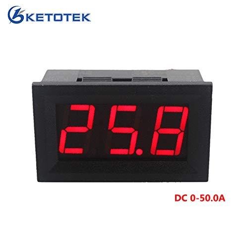 Lepakshi Red Led Display Dc Ammeter Current Panel Meter Ampere Meter Digital Amm